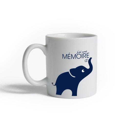 Tasse J'ai une mémoire d'éléphant