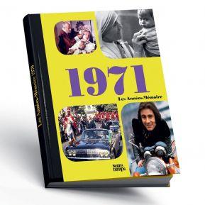 Livre mémoire de l'année 1971