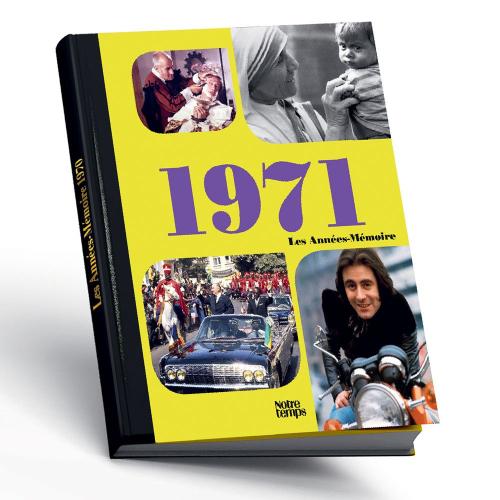 Livre années mémoires de 1971