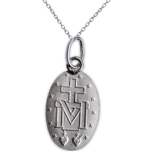 Médaille miraculeuse en argent massif