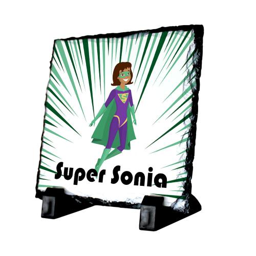 Ardoise personnalisée Super héros