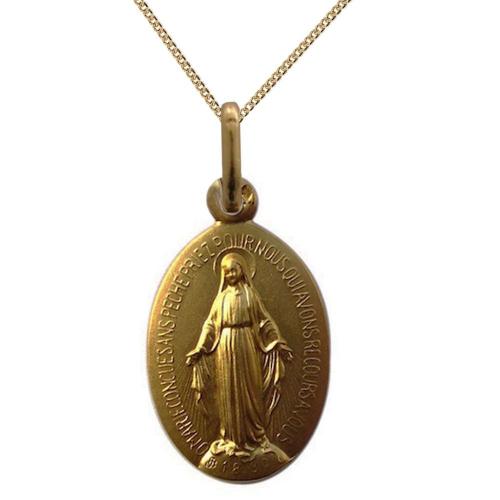 Médaille miraculeuse en plaqué or