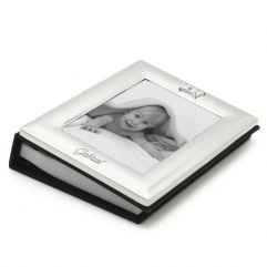 Cadre Album photo enfant roi en métal argenté