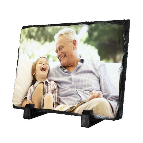 Ardoise rectangulaire imprimée d'une photo