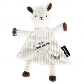 Doudou baby Muchachos le lama personnalisé