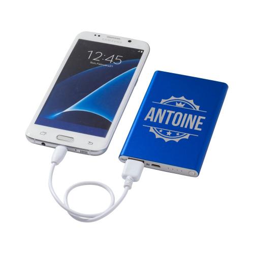 Batterie de secours bleue