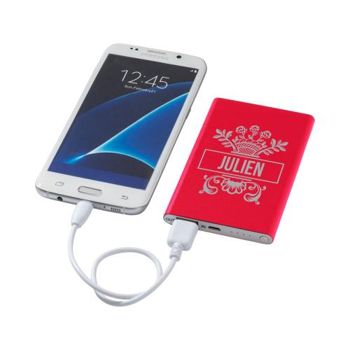 Batterie de secours rouge