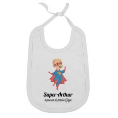 Bavoir personnalisé Super bébé