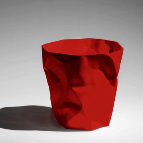 Corbeille Bin bin rouge