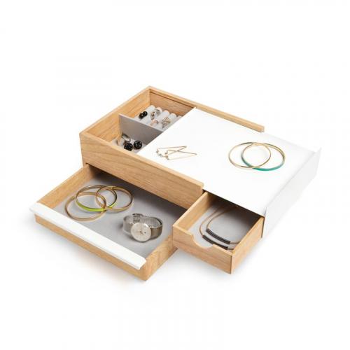 Boîte à bijoux multi-rangements