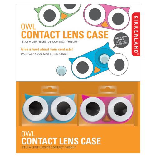 Boite à lentilles design fun