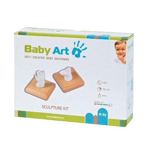 Boite kit bébé empreinte