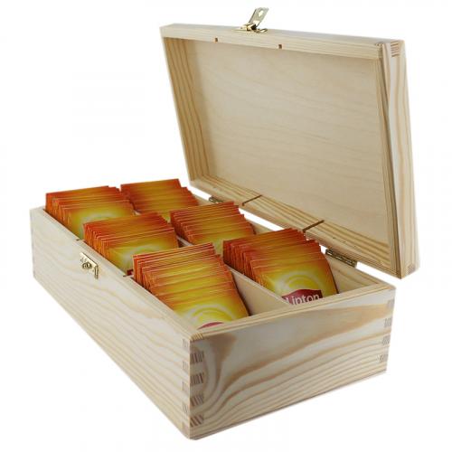 Boîte à thé Lipton 6 compartiments
