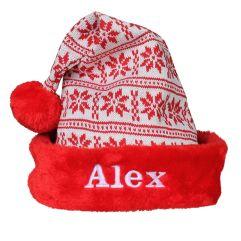Bonnet de Noël en tricot
