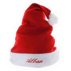 Bonnet de Noël enfant prénom