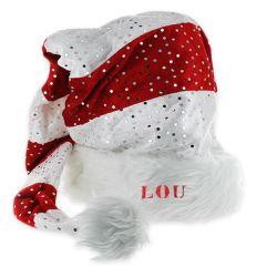 Bonnet de Noël pailleté