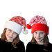 bonnet de noël enfant tricot