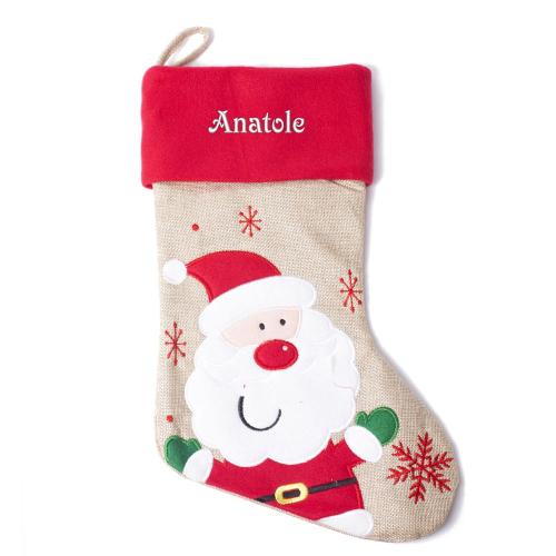 Botte de Noël enfant - Papa Noël