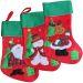 Chaussette de Noël en feutrine épaisse