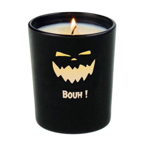 Bougie d'Halloween personnalisée