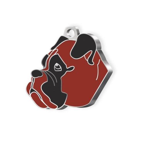 Médaille Boxer chien