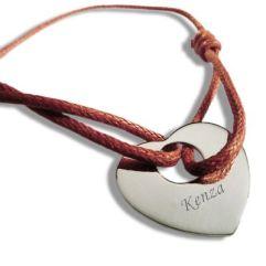 Bracelet coeur ajouré