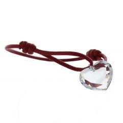 Bracelet coeur en cristal