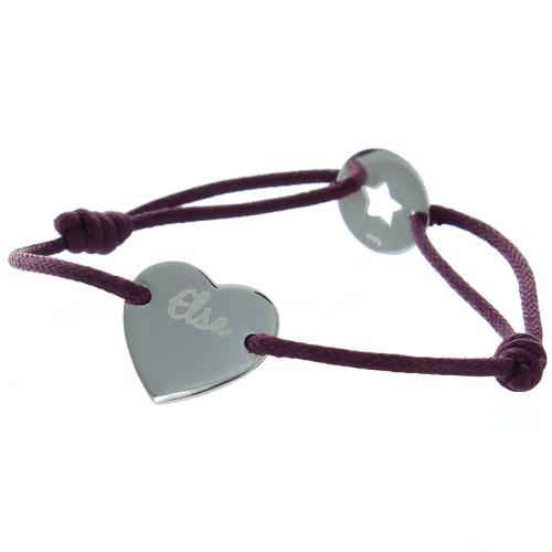 Bracelet coeur Saint Valentin