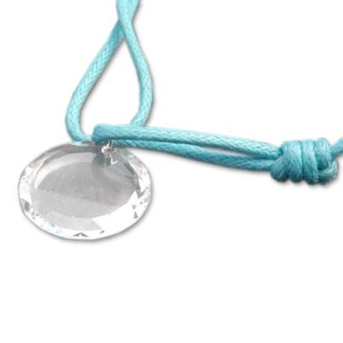 Médaille ronde en cristal