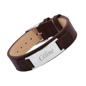 Bracelet cuir femme personnalisé
