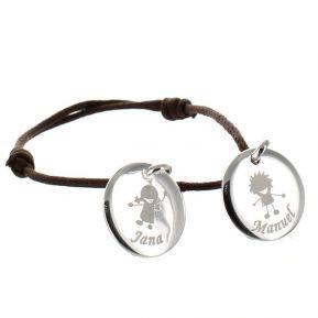 Bracelet Elisa gravé