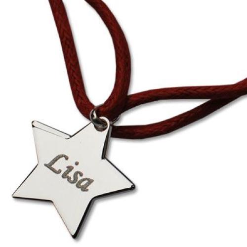 Bracelet étoile personnalisé