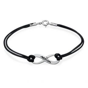 Bracelet infini personnalisé