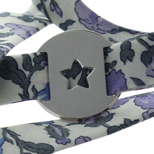 Bracelet personnalisé liberty étoile