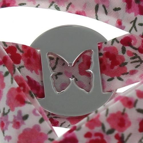 Bracelet papillon et liberty personnalisé