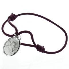 Médaille de baptême ange personnalisée