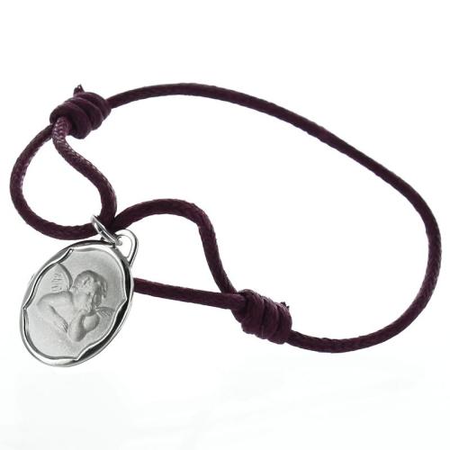 Bracelet médaille de baptême