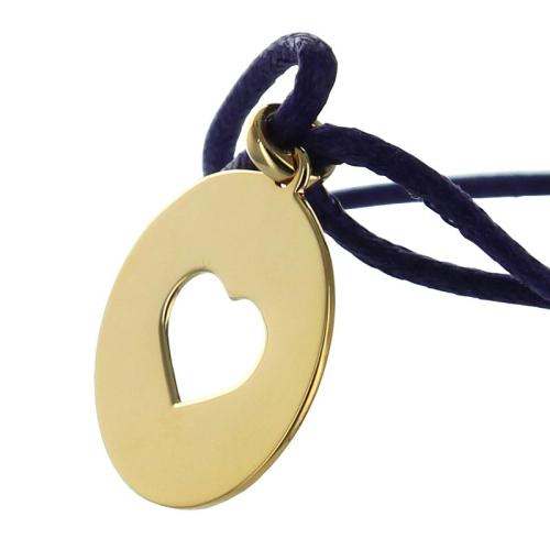 Bracelet mon Amour plaqué or