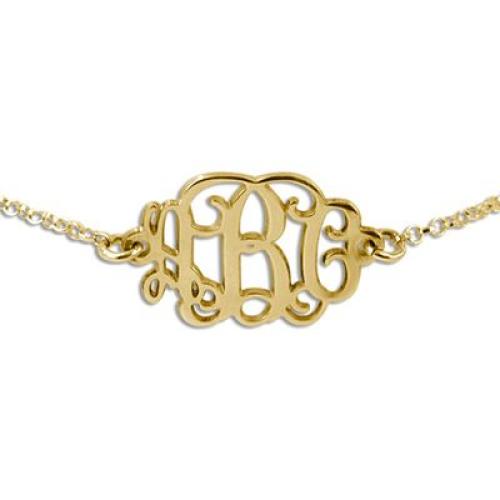 Bracelet avec mes initiales