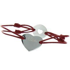 Bracelet personnalisé St Valentin
