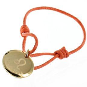 Bracelet signe astrologique gravé