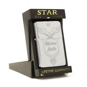 Briquet Star® personnalisé Motard