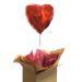Cadeau ballon coeur rouge