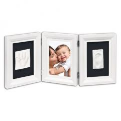 Cadre deux empreintes Baby Art
