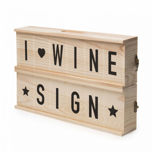 Caisse à vin Winesign