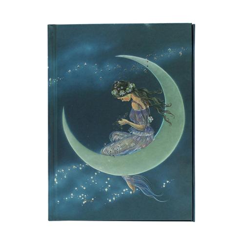 Carnet A5 La fille de la lune de Paul & Ron Henry