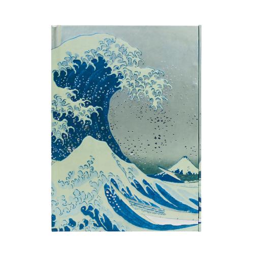 Carnet A5 La Grande Vague de Kanagawa de Hokusai