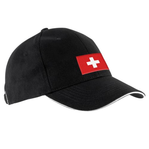 Exemple de modèle de casquette brodée