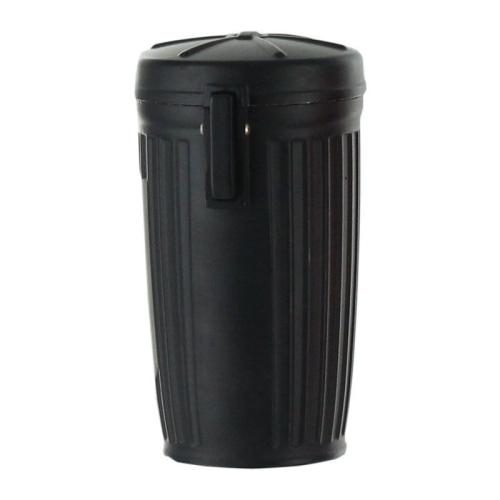 Cendrier de poche personnalisé poubelle noir