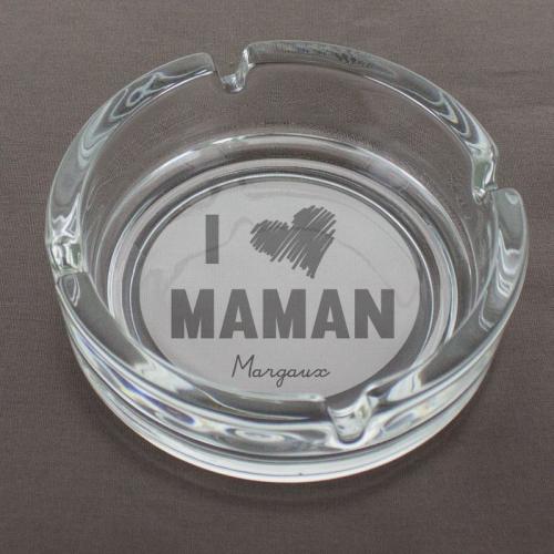 Cendrier I love Maman